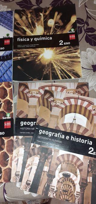 libros 2 ESO Colegio Melchor Cano