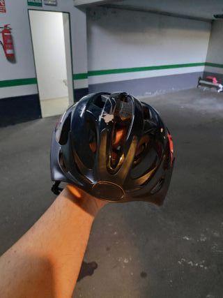 casco bicicleta talla m
