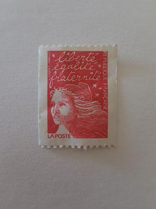 Sello postal Francia