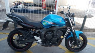 Yamaha FZ6 de 600 100 caballos