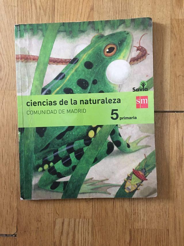 Libro ciencias de la naturaleza savia sm primeria