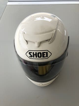 Casco shoei blanco Xd