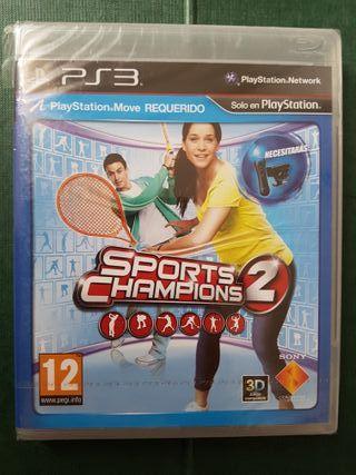 Sports Champions 2 PS3 precintado