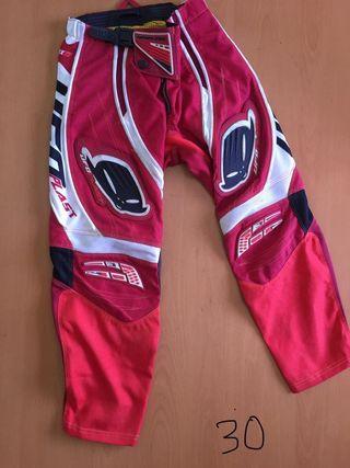Pantalon Moto talla 30