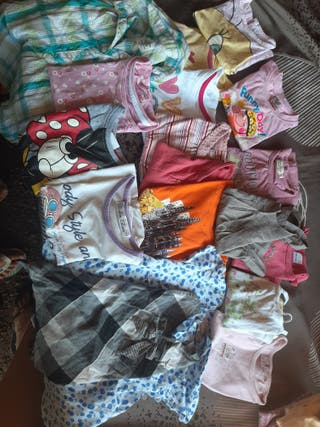 pack de 18 camisetas 2-3 años
