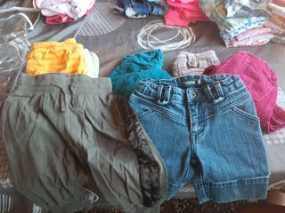 pack 9 pantalones niña