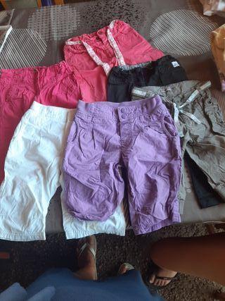 pack 6 pantalos de niña