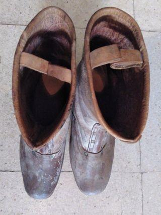 botas antiguas