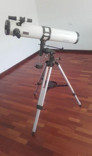 telescopio reflector ecuatorial alstar
