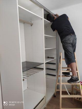 ¿Necesitas montar un armario cortar encimera ?etc
