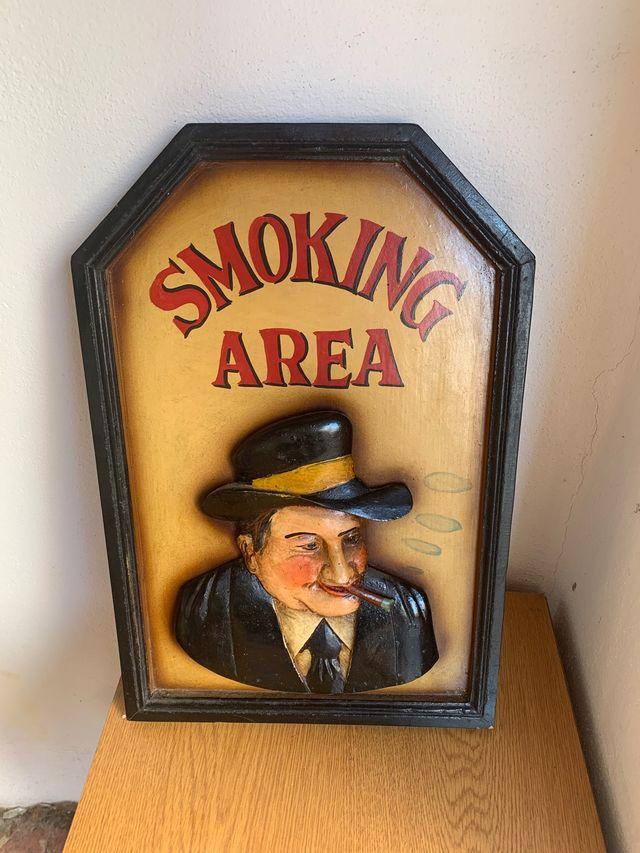 Cuadro smoking area