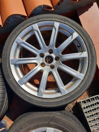 """Llantas con neumático de audi 18"""""""