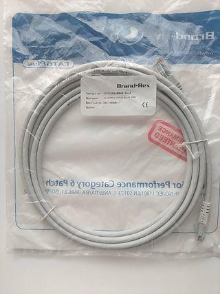 Cable UTP Ethernet 3 metros Categoría 6 NUEVO