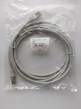 Cable Ethernet 3 metros CATEGORÍA 6 NUEVO