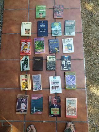 22 Libros antiguos variados