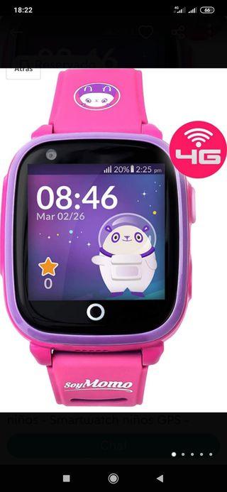 SoyMomo Space 4G Reloj GPS