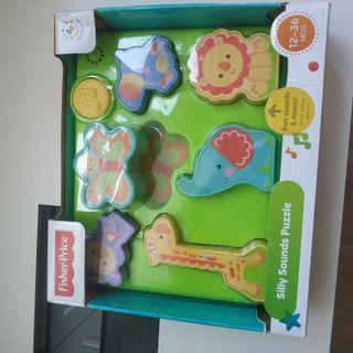 Puzzle infantil musical para 12 a 36 meses