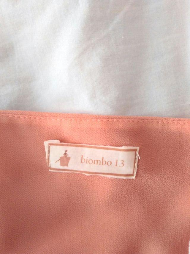 Camiseta / top BIOMBO 13 (ahora BIMANI). Talla S