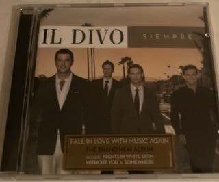 CD Il divo. Siempre