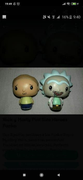 Rick y Morty Pint Size Heroes