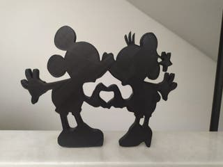 Figura Mickey y Minnie Mouse Disney