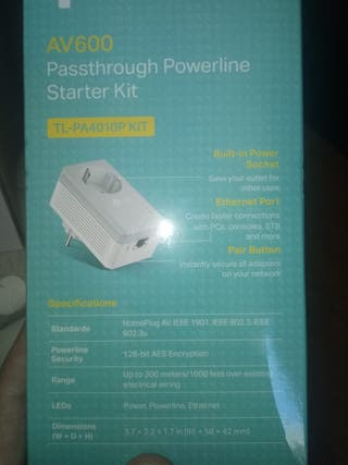 PLC marca TP-LINK Av 600