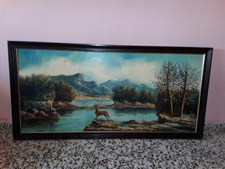Cuadro de decoracion 1,39 × 0, 68