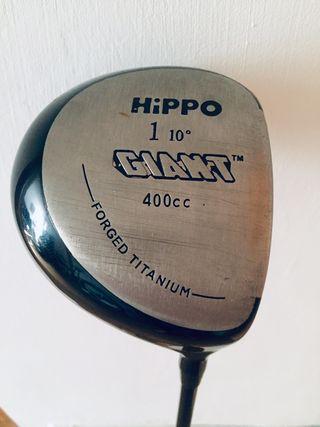 Driver HIPPO GIANT. Forget titanium 10 grados.