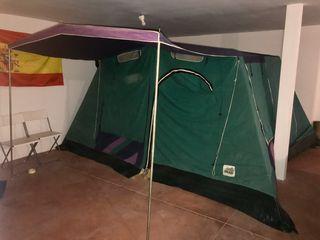 Quechua bomba de mano de 5.2 L Para Camas Colchones Inflables Carpas Camping Excursiones Nuevo