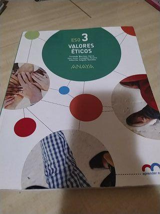 Libro de valores éticos 3° ESO