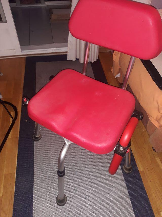 Silla giratoria ducha discapacitados