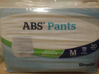 Pañales adulto pants talla M