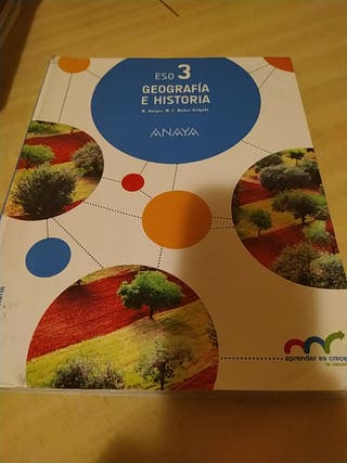 Libro de Geografía e Historia 3° ESO
