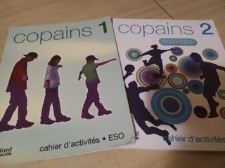 Libros de francés de 1° y 2° de la eso