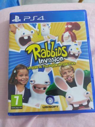 Rabbids Invasión PS4