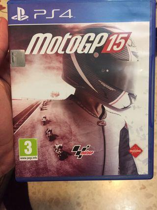 Motogp15 PS4