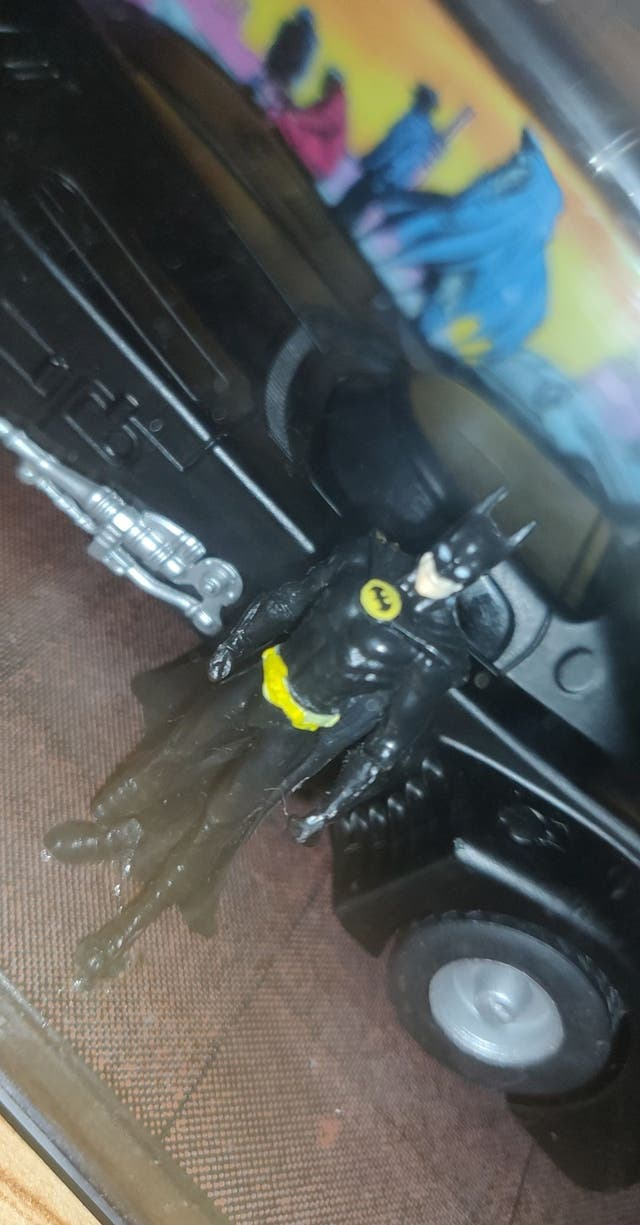 Batman and Batmobile from the Movie