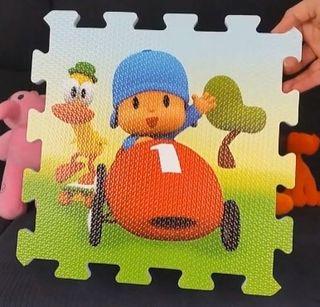 Alfombra puzzle infantil pocoyo