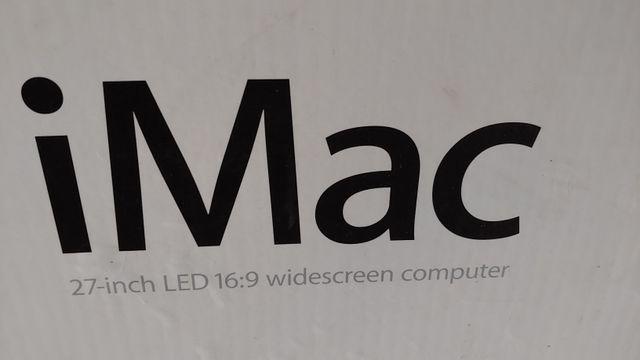 Imac 27-inch LED 16:9 widescreen comouter