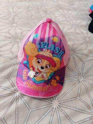 Gorra de niña 2 años