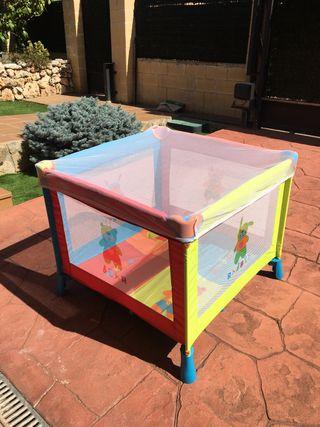 Parque infantil/cuna de viaje Olmitos+mosquitera