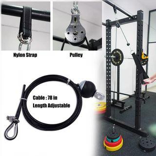 polea para 200kg ejercicio casa máquina gimnasio