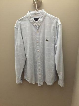 Camisa Lacoste estampada a rayas