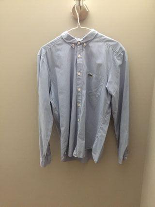 Camisa Lacoste estampada a cuadros