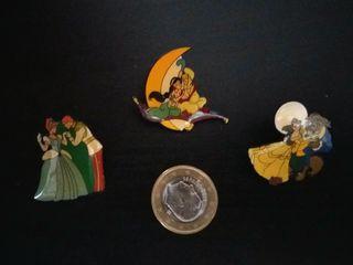 Lote 3 pins películas Walt Disney