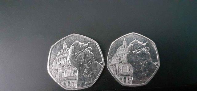 joblot rare 50p coin and £2 coin collection