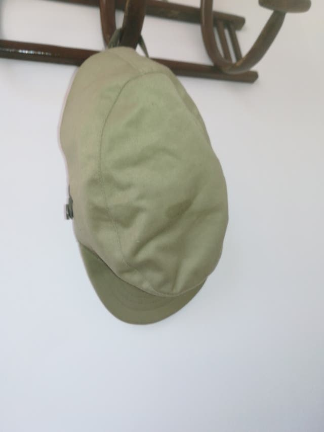 Gorra de militar antigua.