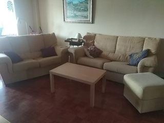 conjunto de sofás 3 + 2 plaza regalo mesa de centr