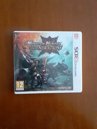 Juego Mosnter Hunter Generations 3DS