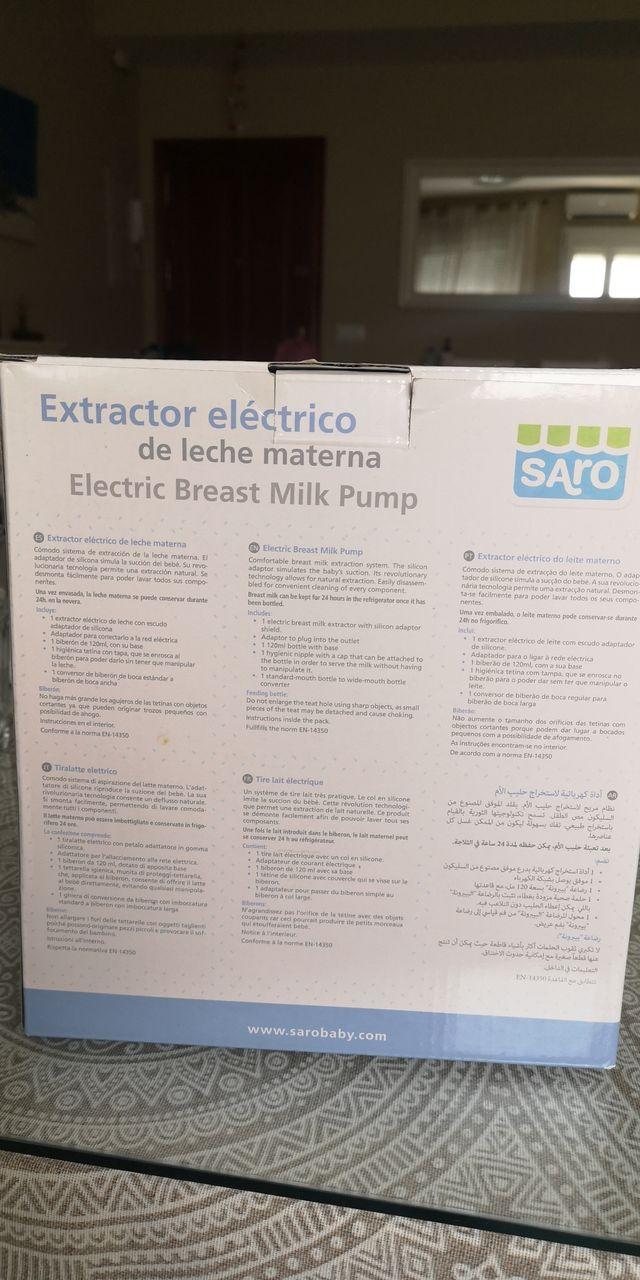 Extractor de Leche eléctrico